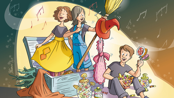 Opera Candy : The Gourmet Adventure of Hansel and Gretel