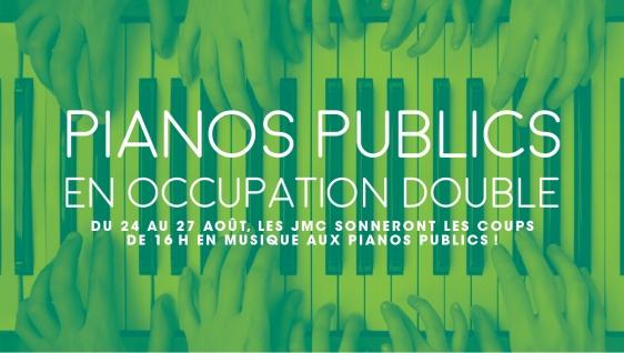 Du grand écran aux pianos publics : un concert familial