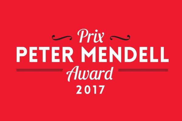 Prix Peter Mendell 2017