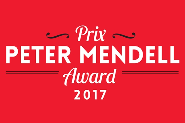 Le lauréat du Prix Peter Mendell 2017 est dévoilé!
