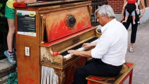 Public pianos in Montreal