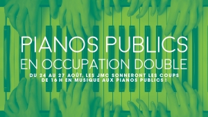 Pianos publics en occupation double