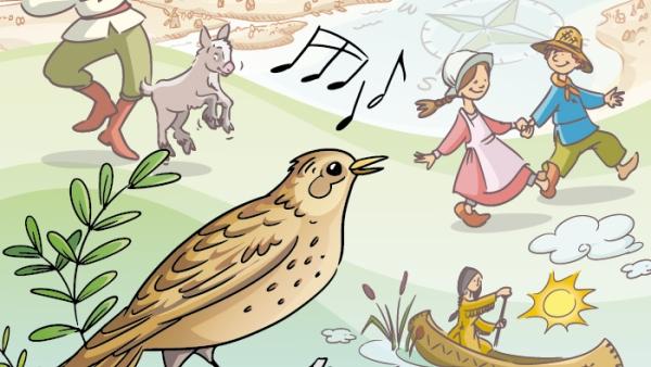 Le chant de l'alouette