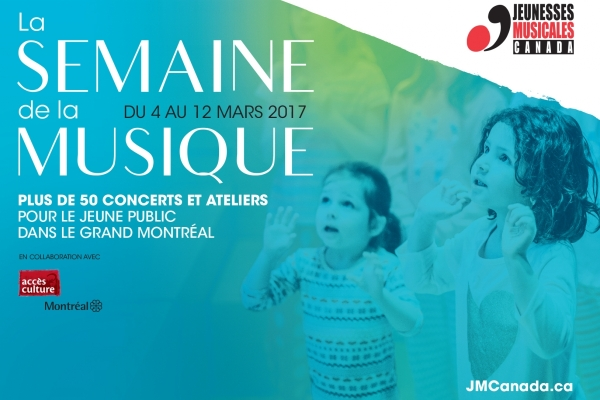 The Semaine de la musique, from March 4 to 12, 2017