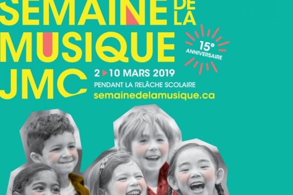 Semaine de la Musique - March 2 to 10, 2019
