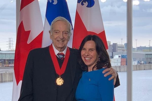 Joseph Rouleau, Commander of the Ordre de Montréal